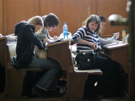 Студентов в Петербурге превратили в «бакланов»