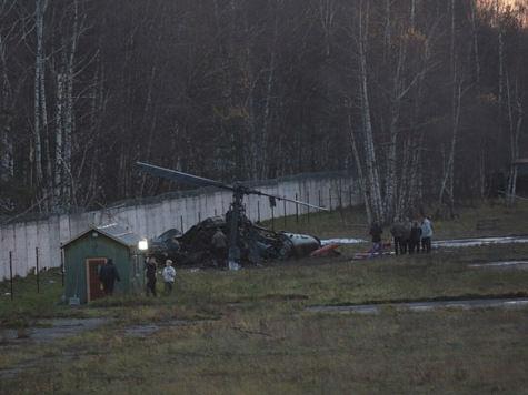 Вертолет «Аллигатор» упал в Москве