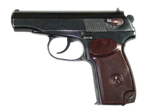 Личным оружием офицеров вместоПМ станет пистолет Ярыгина