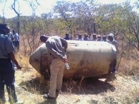 На Зимбабве упали фрагменты американской ракеты 1975 года