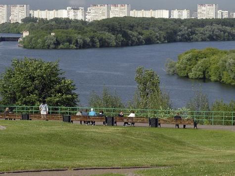 В Коломенском разгуляется Русское поле