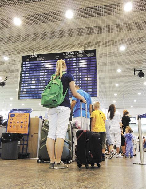 Бесстрашный рейс. В Египет летят беременные россиянки и бабушки с внуками