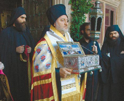 Пояс Богородицы доставили в Россию