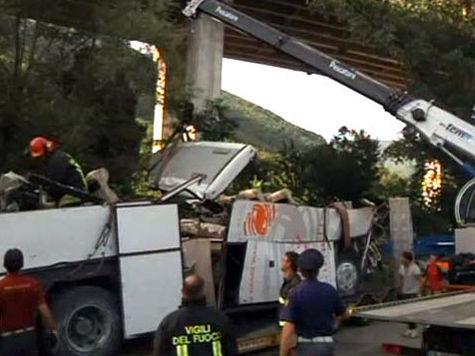 Автокатастрофа на юге Италии: все 38 жертв были знакомы между собой