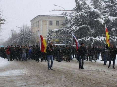 В Южной Осетии назревает народная революция