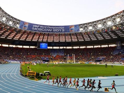 Три медали для легкоатлетов