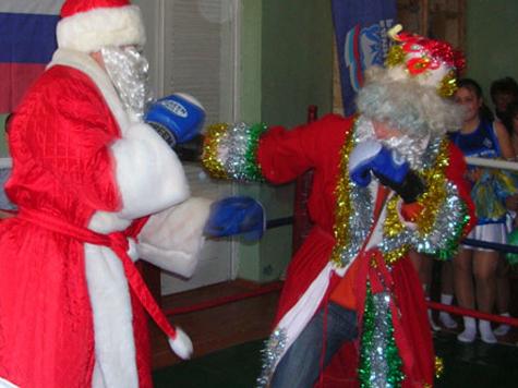 Деду Морозу запретили драться