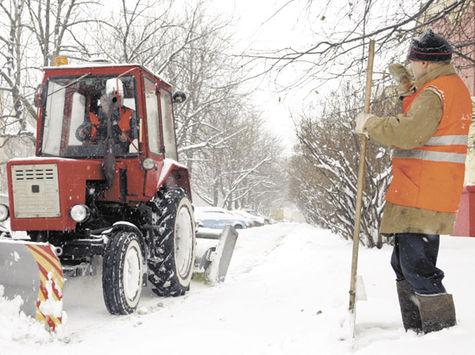 В Подмосковье снег будут убирать альпинисты