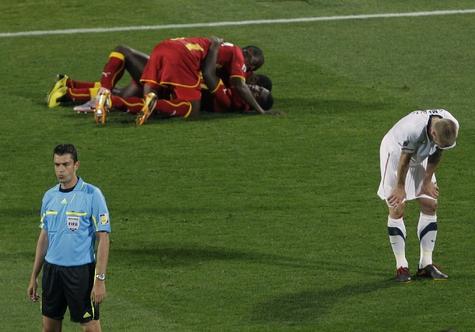 Гана в четвертьфинале