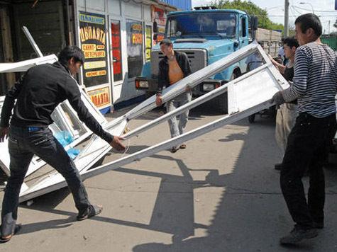 Тимирязевский рынок пошел под снос