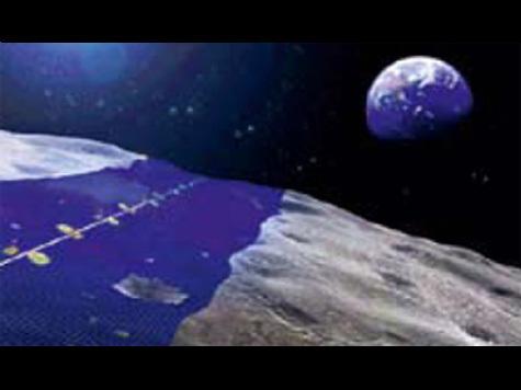 Опоясать Луну солнечными батареями задумали японские ученые