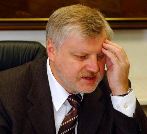 Миронов готов стать губернатором