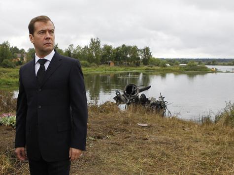 Доклад Левитина Медведеву выглядел дико