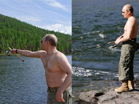Путин не рыбачил в Тыве в этом году?