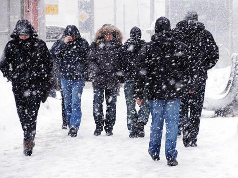 На Москву надвигается самый сильный за полвека мартовский снегопад