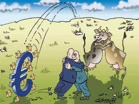 Молочные евро вернутся домой