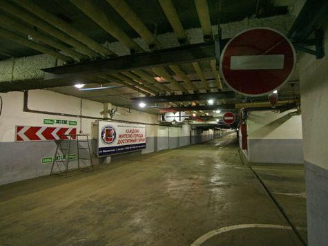 В центре Москвы построят две подземные парковки