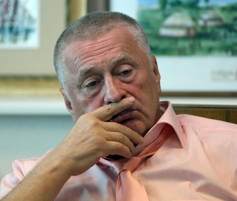 Жириновский: Никто не живет лучше, чем этот осел