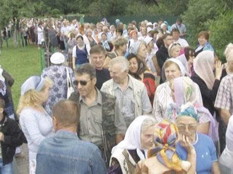 В Одинцове два дня принимали крест Андрея Первозванного