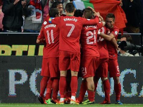 Криштиану Роналду загнал сборную России обратно на второе место
