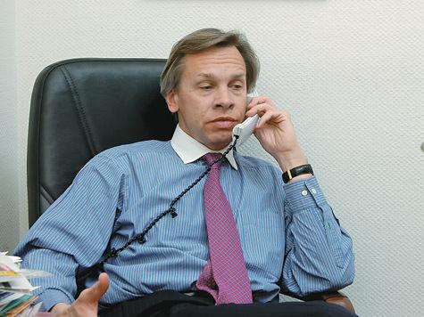 За что злые янки обидели депутата Пушкова?
