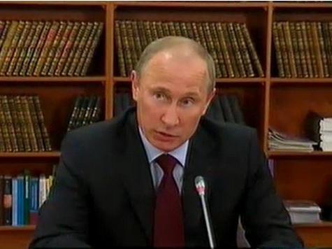 «Штабные» транспортники засыпали Путина идеями и просьбами