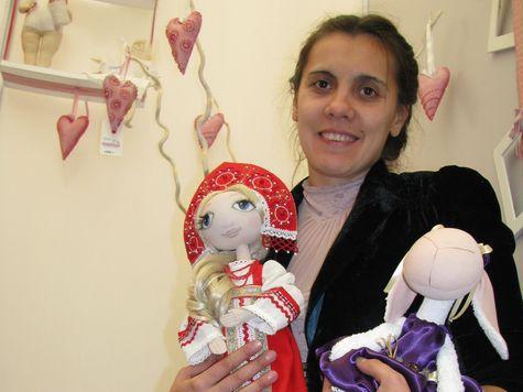 Волгоградские куклы делают высокую моду в Милане