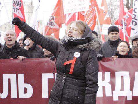 Когда участников столичной акции протеста попросили кричать вместо «Россия – без Путина» - «Москва – без Собянина», они поскучнели и разошлись по домам