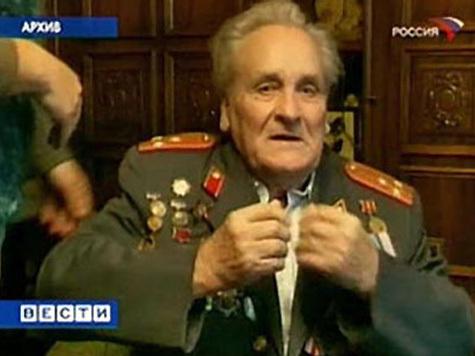 В Риге скончался партизан Василий Кононов