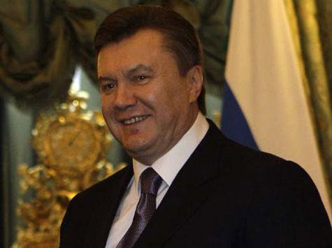 День рождения Януковича: устрица за 20 гривен и библия в подарок