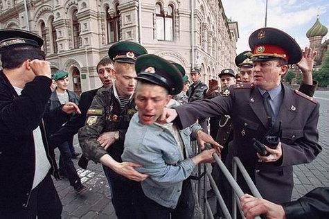 Большинство россиян боится милиции