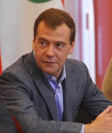 Прощальный подарок Медведева