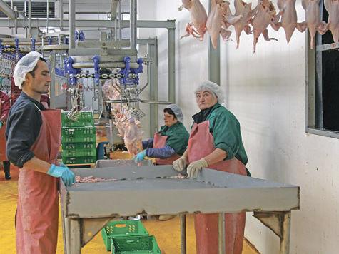 Новопетровскую птицефабрику отметили высшим баллом