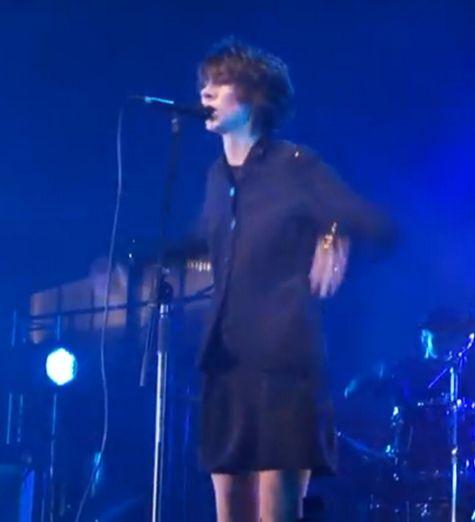 Земфира впервые исполнила на публике песни альбома «Жить в твоей голове». ВИДЕО