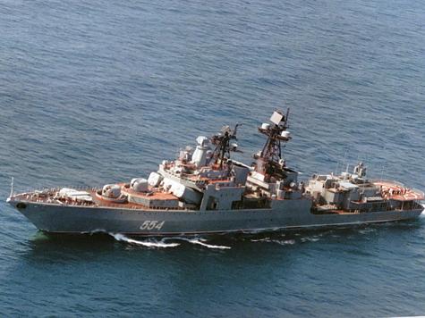 Российские боевые корабли дали отпор пиратам