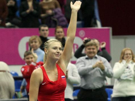 Мария Шарапова опередила Ксению Собчак в рейтинге знаменитостей