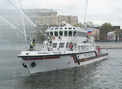 Имя Героя России, 46-летнего полковника Евгения Чернышева, теперь официально будет носить пожарно-спасательный корабль
