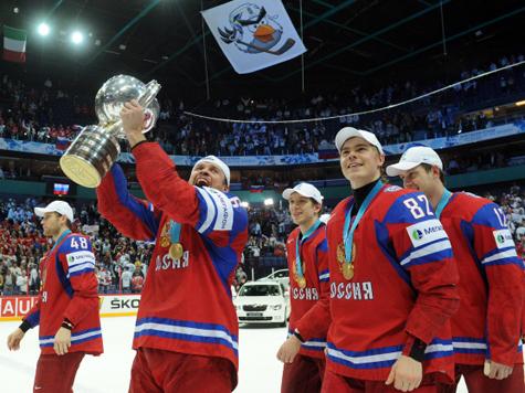 Сборная России выиграла чемпионат мира, показав стопроцентный результат — 10 побед в 10 матчах!