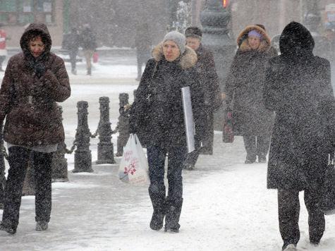 Москву подготовили к снегопадам