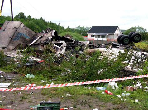 За штурвалом рухнувшего Ту-134 не было пилота
