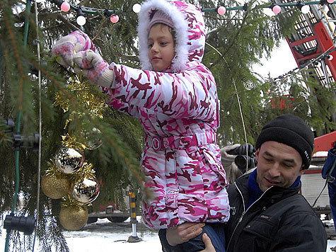 Кремлевская елка не осталась сиротой