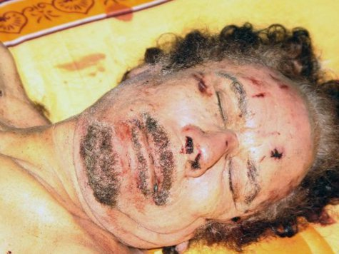 Каддафи похоронили неизвестно кто и неизвестно где