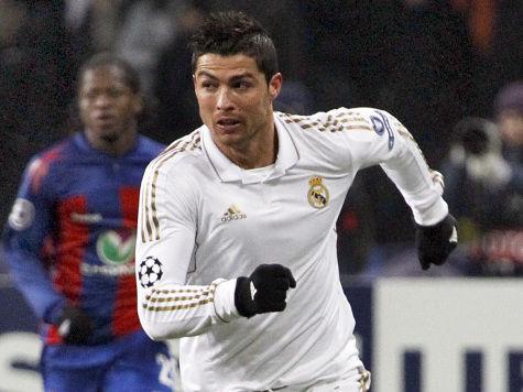 Роналду игнорирует церемонию вручения «Золотого мяча»