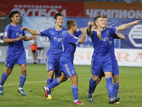 Московское «Динамо» выиграло благодаря пенальти на последней добавленной минуте