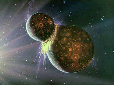 4,5 миллиарда лет назад в Землю врезалось космическое тело размером с Марс, известное как Тейя