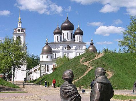 Набережная в Дмитрове приукрасит времена года
