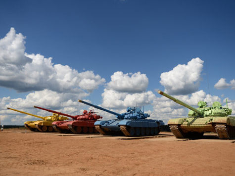 На «танковом биатлоне» офицеры воровали топливо