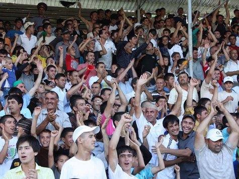 Футбол по-таджикски