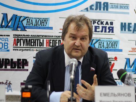 Прогнозы, тревоги и перспективы от депутата Емельянова.