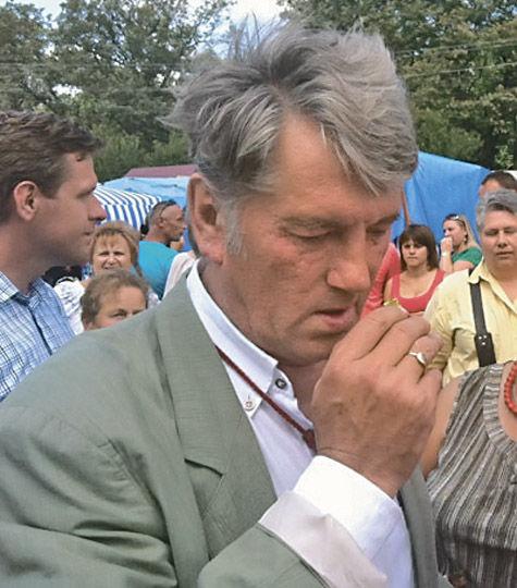Ющенко расстался с гламуром